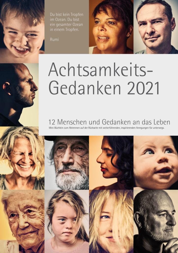 Kalender Achtsamkeits-Gedanken 2021